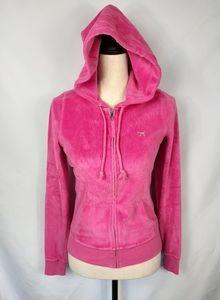 Pink hoodie holographic sequins